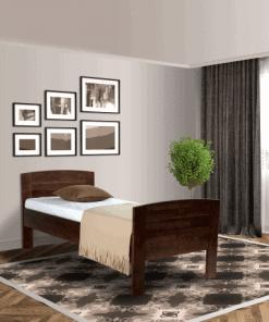 Senioren bed comfort compleet donkerbruin