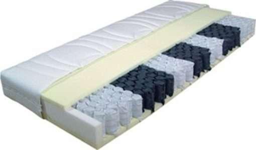 Pocketvering matras op maat, 350 met koudschuim, 21 cm hoog